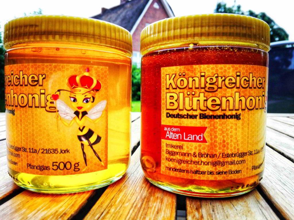 Honig aus dem Alten Land