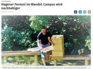 Online-Artikel in der Westfalenpost