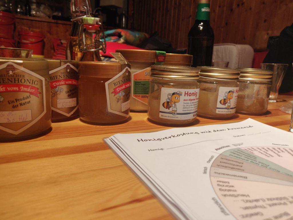Honigverköstigung Aromarad
