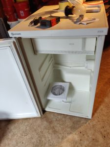 Wärmeschrank - Kühlschrank